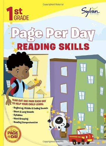 Amazon.com: First Grade Page Per Day: Reading Skills (Sylvan Page ...