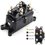 12V/250A Winch Solenoid Relay Contactor Rocker Switch Thumb Truck for ATV UTV
