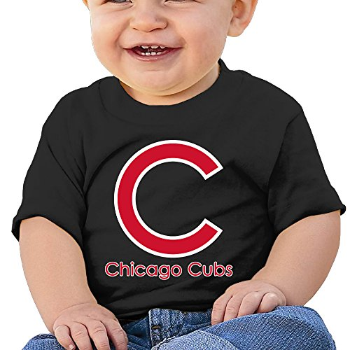 Price comparison product image Boss-Seller Chicago Team Short Sleeve T Shirts For 6-24 Months Infant Size 24 Months Black
