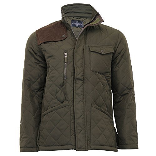 Soul Corduroy Padded Packcord13 Winter Coat Brave Star Khaki Mareno Mens New Jacket Quilted Enw0qpAZx