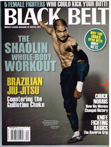 BLACK BELT Magazine (Sept 2012) The Shaolin Whole-Body Workout
