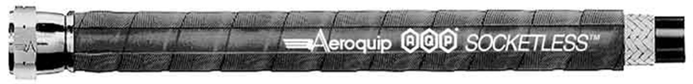 250 PSI 6 in O.D Per HG Black AQP Socketless Hose Aeroquip FCN1010 AQP Socketless Hose 10 ft I.D 0.91 in Bend Radius 18 in Min Hose -10AN Hose Size 0.63 in