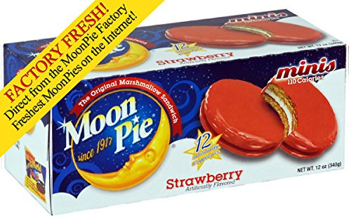 Moonpie Minis, Strawberry (Pack of 12) ()