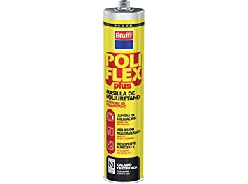 Krafft poliflex-plus - Adhesivo/a poliflexplus poliuretano negro (cartucho 300ml): Amazon.es: Bricolaje y herramientas