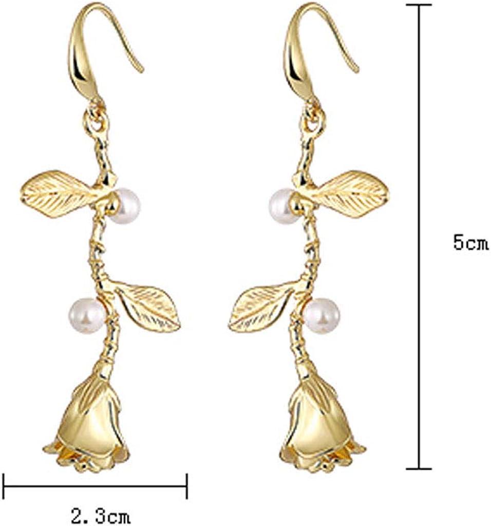 1 Pair Playing Cards Spades Plum Ear Stud Earrings Jewelry Crystal Earrings Gift