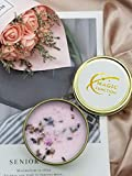MAGIC FUNCTION Aromatherapy Scented Candle with Dried Flower, 3.4Oz, 20 Hours .Used to Improve The Success Rate of Things, Bring More Opportunities and Help.(Helping Hand)