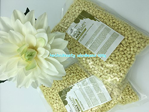Price comparison product image Huini Herbicos Body Hair Remover Hard Wax Beans Creme for all skin types - 17.64 oz / 500g CD-RHW500C-1