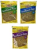 Good Sense Roasted and Salted, Roasted/No Salt & Honey Roasted Sunflower Nuts Combination (3)8oz Bags