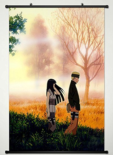 Naruto Wall Scroll Poster Fabric Painting For Anime Uzumaki