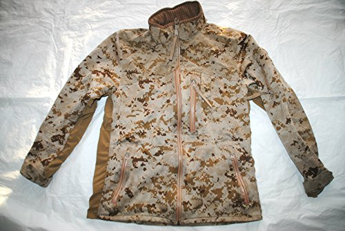 Usmc Apecs Cdj 180s Cold Weather Desert Marpat Combat Jacket Seal Devgru - Small (Coat Marpat)