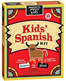 Magnetic Poetry - Kids' Spanish Kit - Ages 5 and Up - Words for Refrigerator - Write Poems and Letters on the Fridge - Made in the USA