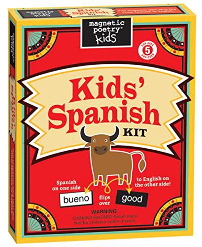 Magnetic Poetry - Kids' Spanish Kit - Ages 5 and