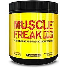 PharmaFreak Muscle Freak 234g - 30 Servings - Hybrid Amino Acid Pre-Workout - Performance - BCAAs - Taurine - Tyrosine