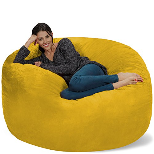 Chill Bag - Bean Bags Bean Bag Chair, 5-Feet, Lemon