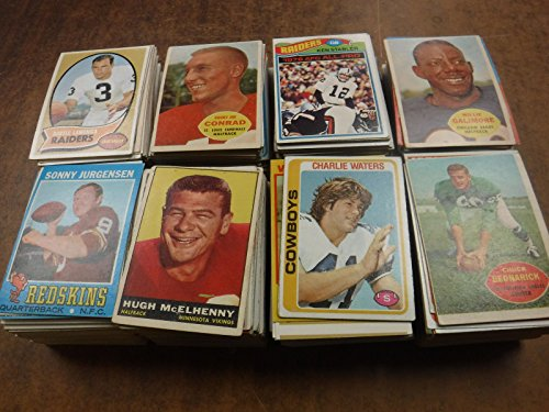 FOOTBALL CARD ESTATE SALE STORAGE UNIT FIND~FROM A - Collectible Sports Cards