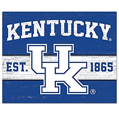 CounterArt/Collegiate 10 by 8-Inch Glass Cutting Board, Kentucky Wildcats