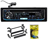 JVC CD Receiver w/Bluetooth USB/iPhone/Android/SiriusXM For 98-02 Honda Accord