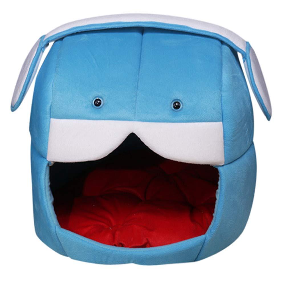 bluee M bluee M DZT1968 Christmas Super Soft Dog Mat Foldable Pet House&Bed Cat Kennel Pet Cushion