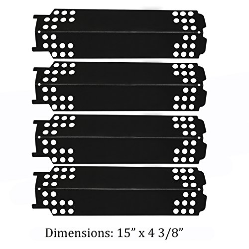 Gfunt Porcelain Steel Heat Plate Temt G432-0096-W1 Replacement for Charbroil 463436215 463436213 Gas Grill by Gfunt