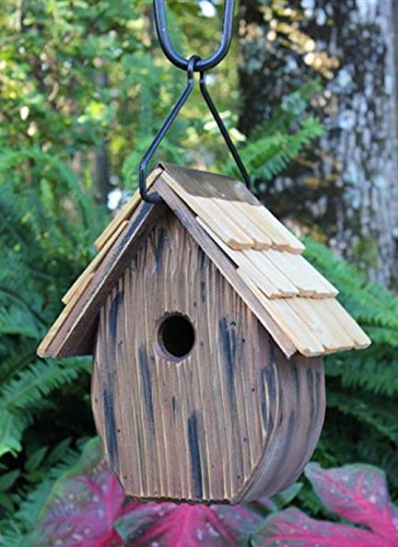 Heartwood Windy Willows Bird House - Handcrafted Rustic Willow