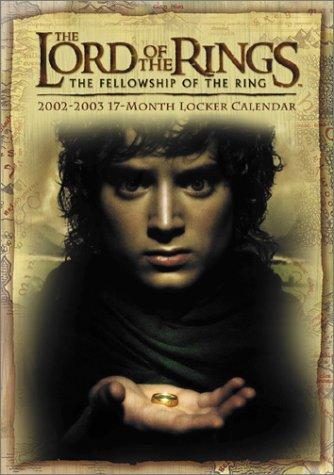 Lord Of The Rings 2002 2003 Locker Calendar