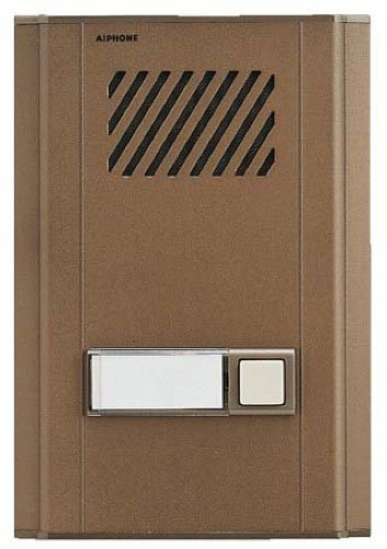 Series Door Intercom (Aiphone LE-DL Surface-Mount Door Intercom with Directory for Use with LEF and LEM Series Door Intercom Systems, Aluminum Faceplate by Aiphone)