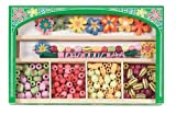 Melissa and Doug Flower Power Wooden Bead Set, Baby & Kids Zone