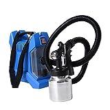 HomCom 800W HVLP Electric Paint Sprayer Spray Kit