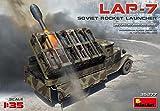 MiniArt 35277 Soviet Rocket Launcher Lap-7, WWII Military Miniatures 1/35 Scale Plastic Model Kit