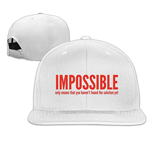 impossible-not-foun-solution-yet-quotes-hip-hop-hat-cap-one-size-white-for-ba
