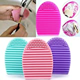 Kitchen Appliance Packages Amazon silicone cosmetic cleaning up washing brush UV Gel net scrubber tool as a basis for make-up for cleaning