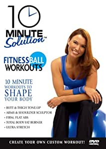 10 Min Sol:fitness Ball Wrkout