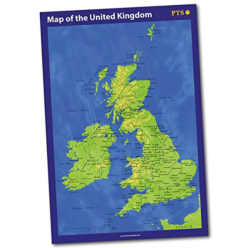 School Poster Map Of The United Kingdom Classroom Display A2 Primary Teaching Services