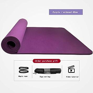 yjll Colchoneta De Yoga Esterilla Yoga Material ...