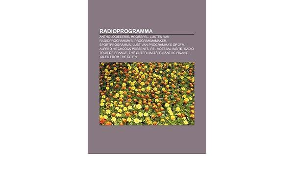 Radioprogramma: Anthologieserie, Hoorspel, Lijsten van ...
