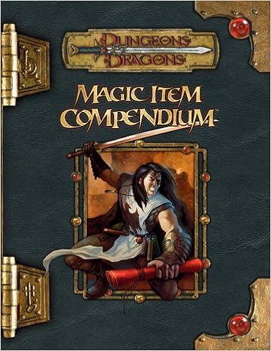 Magic Item Compendium (Dungeons & Dragons d20 3 5 Fantasy