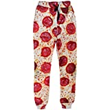 Dorathy Unisex 3D Funny Pizza Print Jogger Pants Trousers Sports Sweatpants