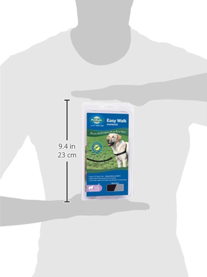 PetSafe Easy Walk Harness, Medium/Large, BLACK/SILVER for Dogs by PetSafe (Image #9)