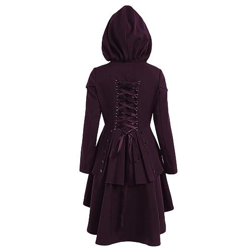 CharMma - Abrigo - chaqueta - para mujer