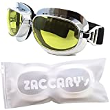 シンプル スタイリッシュ バイク ゴーグル ZACCARY's ソフトジッパー 遮光防水バッグ (パッケージ) セット オートバイ