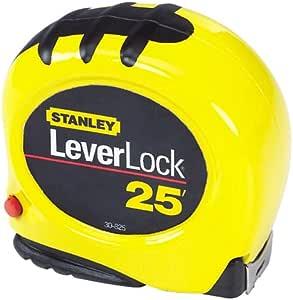 Stanley 30-825 25-Foot-by-1-Inch LeverLock Tape Rule