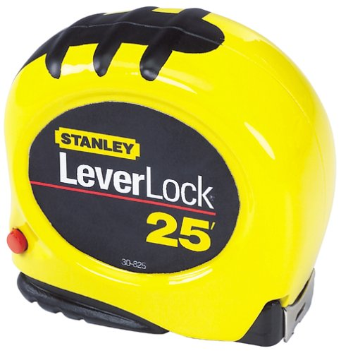 (Stanley 30-825 25-Foot-by-1-Inch LeverLock Tape Rule)