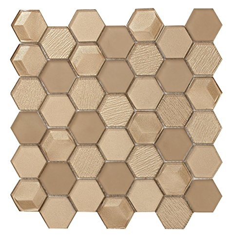 Price comparison product image Michael Brown Collection - Hexagon Bronze Shimmer - SKU : DC0010