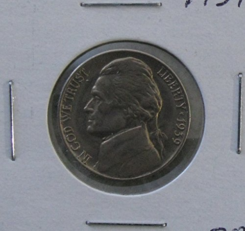 1939-D Jefferson Nickel - Jefferson Mintage Nickel