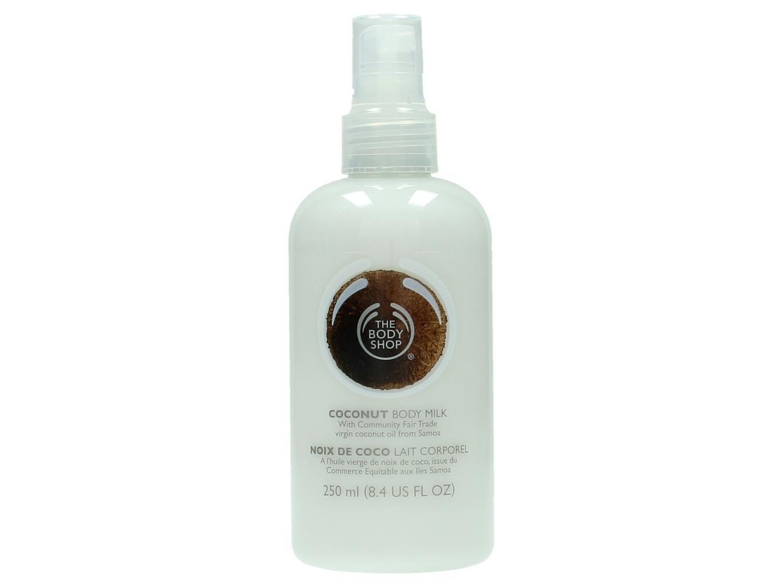 The Body Shop Coconut Body Milk unisex, Kokos Körpermilch 250 ml, 1er Pack (1 x 250 ml) 1098058