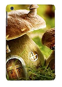 Trolleyscribe Top Quality Rugged Mushroom Houses Case Cover Deisgn For Ipad Mini/mini 2 For Lovers