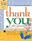 Thank You for Your Encouragement, Howard Publishing Staff, 1582293104