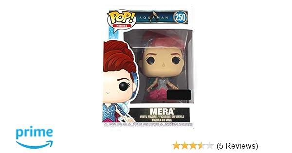 Funko POP! Movies: DC Aquaman- Mera Toy Figure (Game Stop Exclusive) #250