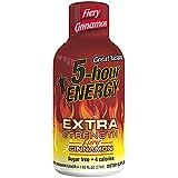 Extra Strength 5-hour ENERGY Shots - Fiery Cinnamon - 24 Count