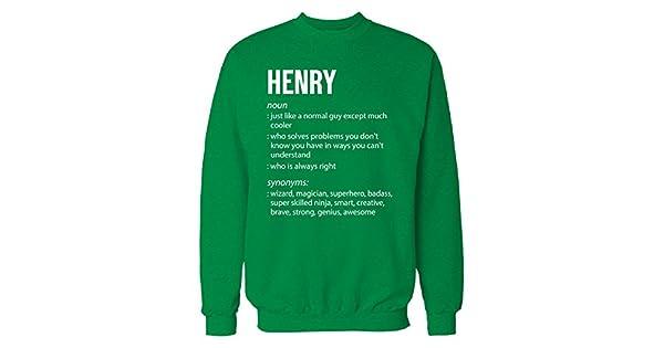 Amazon.com: Inked de forma creativa Henry nombre significado ...